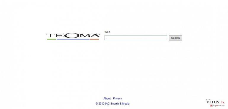 Teoma Web Search fotografija