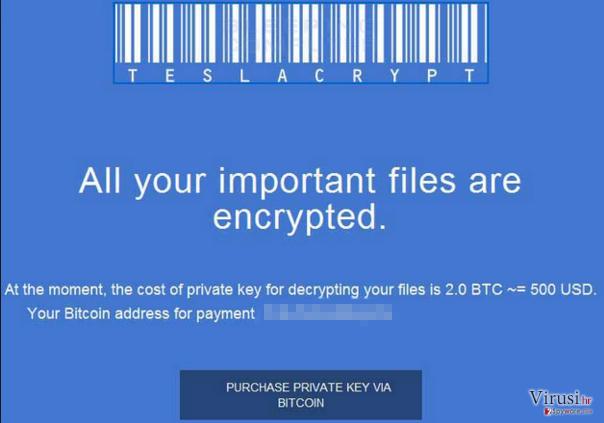 TeslaCrypt 2.0 fotografija