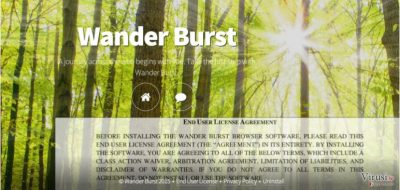 Wander Burst adware