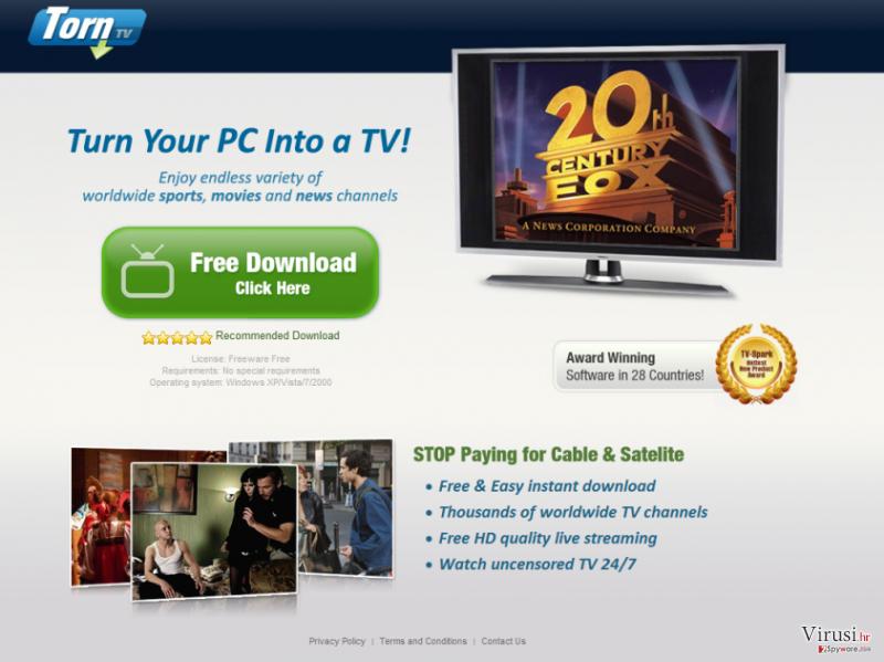 TornTV malware fotografija