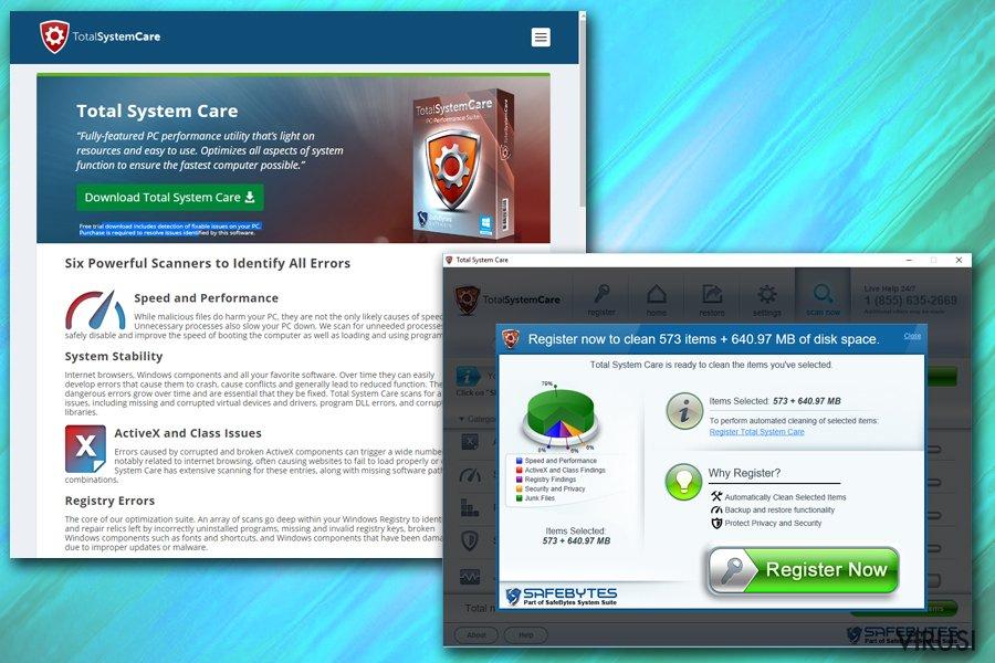 Total System Care fotografija