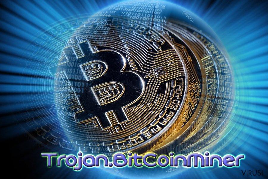 Bitcoin virus fotografija