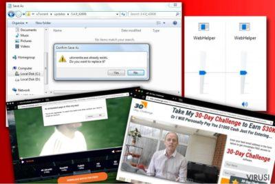 Reklame virusa WebHelper