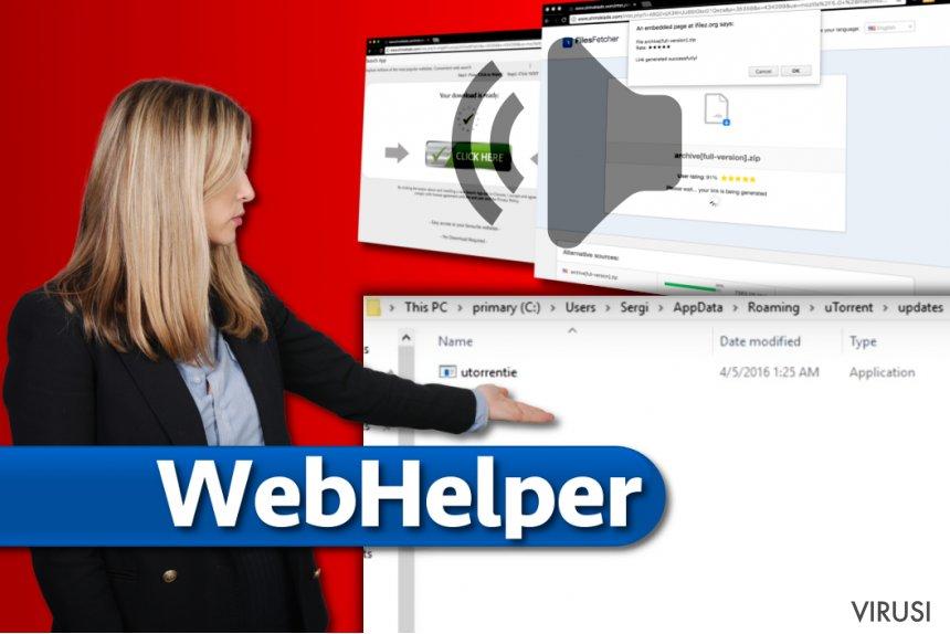 Virus WebHelper