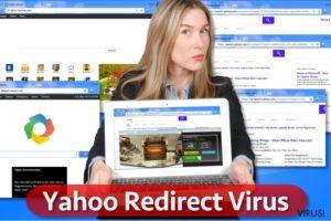 Virus Yahoo koji preusmjerava preglednik