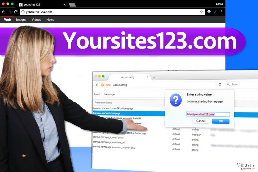 Virus YourSites123.com fotografija