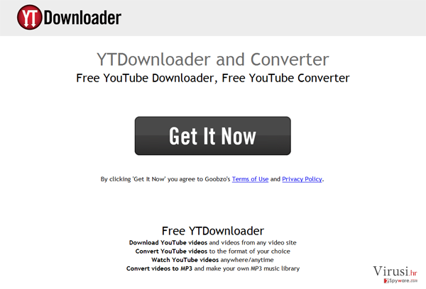 YTDownloader fotografija